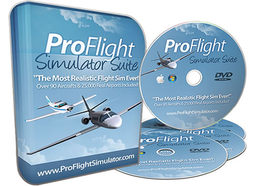 Pro Flight Simulator - Experience A Real Flying Experience - Save 50%